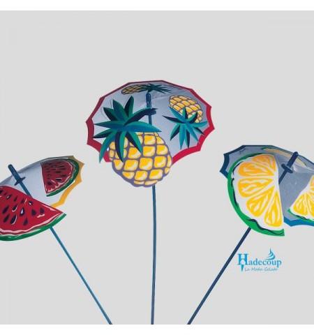 Hadecoup Decorations - bc521---frutta-parasole-250-stuks