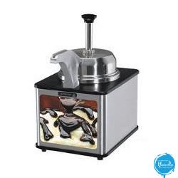 Hadecoup Equipments - chocolade-verwarmer-met-pomp-en-verwarmde-bek