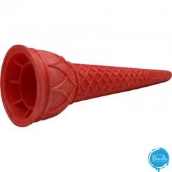 Hadecoup Ice Cream Cones - cornet-soft-rood---50x125mm-140-stuks